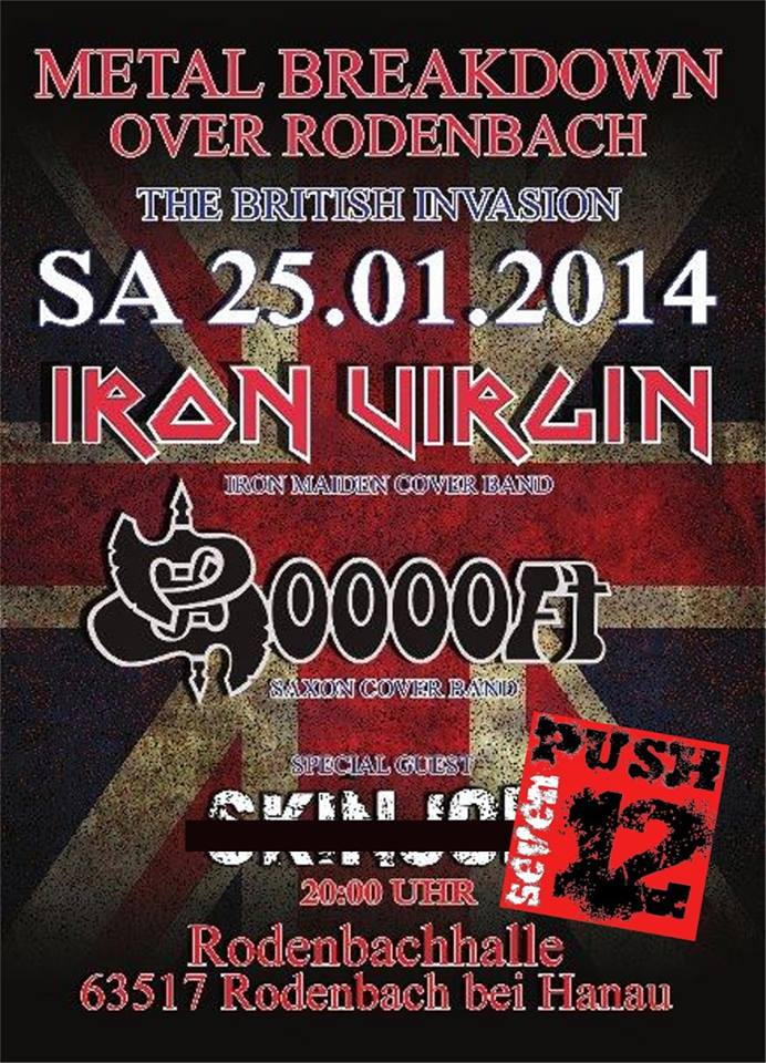 Plakat - Metal breakdown over Rodenbach - 2014