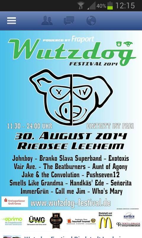 Plakat - Wutzdog - 2014